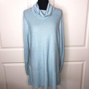 Adrienne Vittadini Cowl Neck Tunic Sweater NWOT